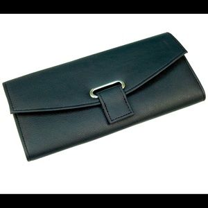 NIB Gunther Mele Fiona Jewelry Folder - Black